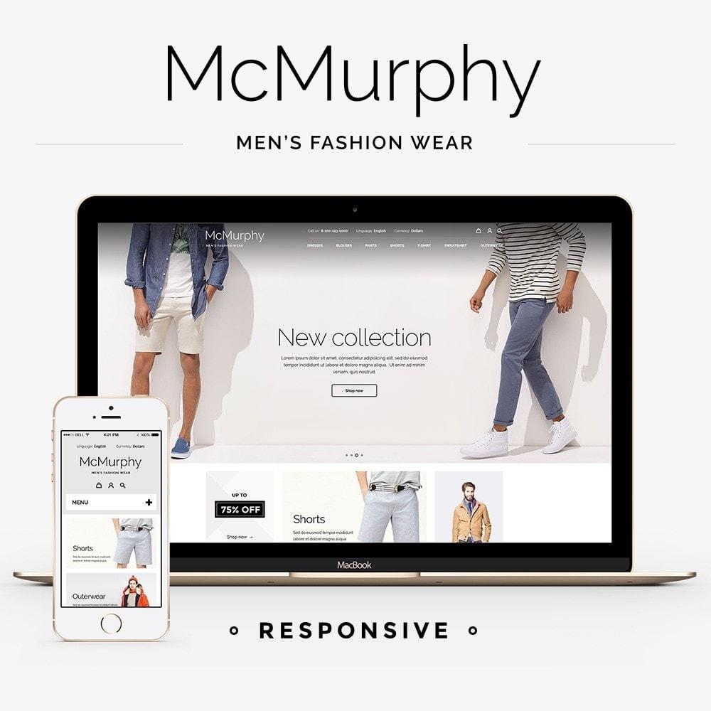 theme - Fashion & Shoes - McMurphy Men's Wear - 1