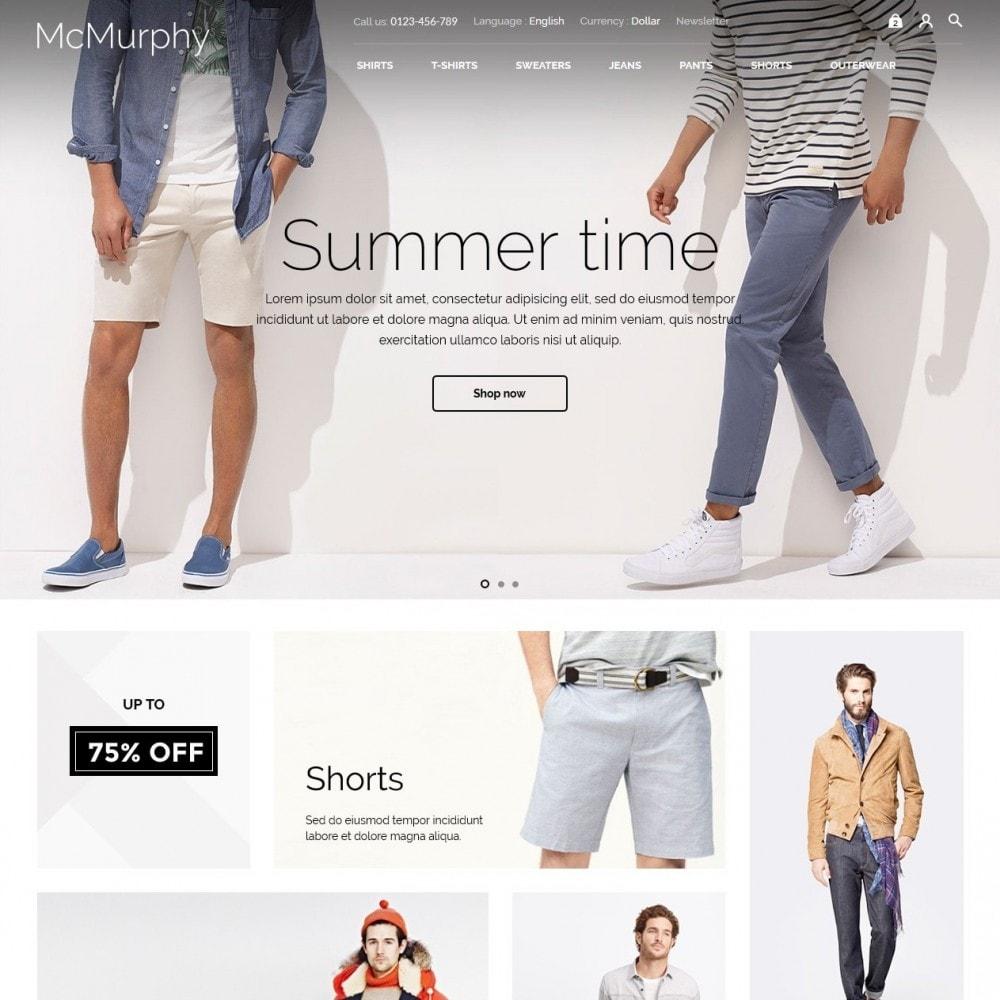 theme - Fashion & Shoes - McMurphy Men's Wear - 2