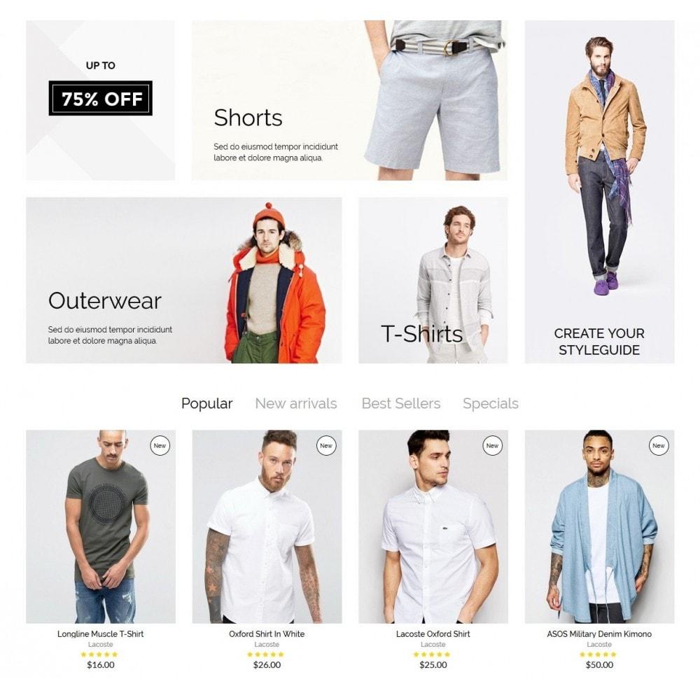 theme - Moda & Calzature - McMurphy Men's Wear - 3