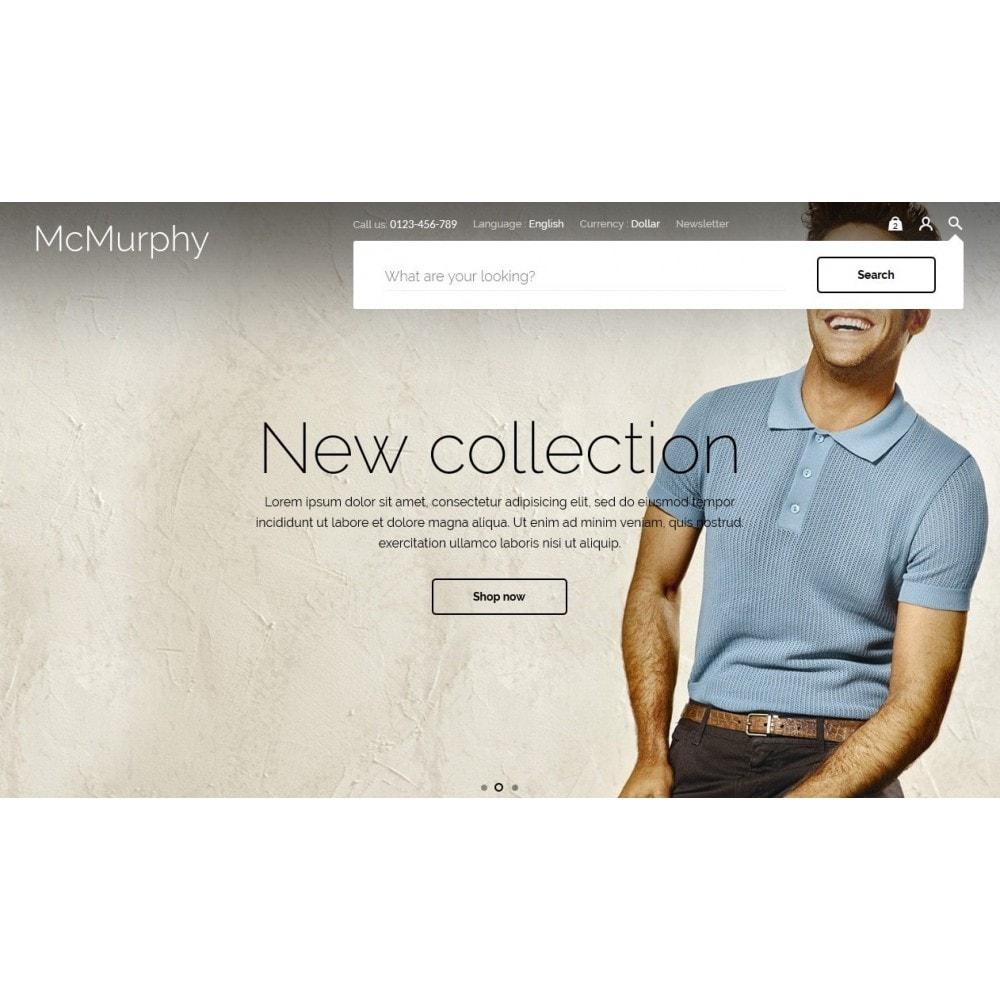 theme - Fashion & Shoes - McMurphy Men's Wear - 4