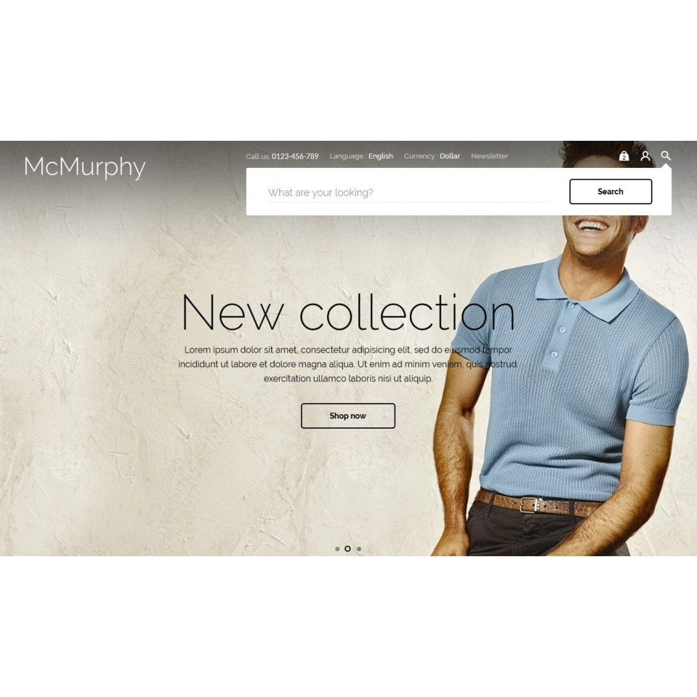theme - Mode & Chaussures - McMurphy Men's Wear - 4