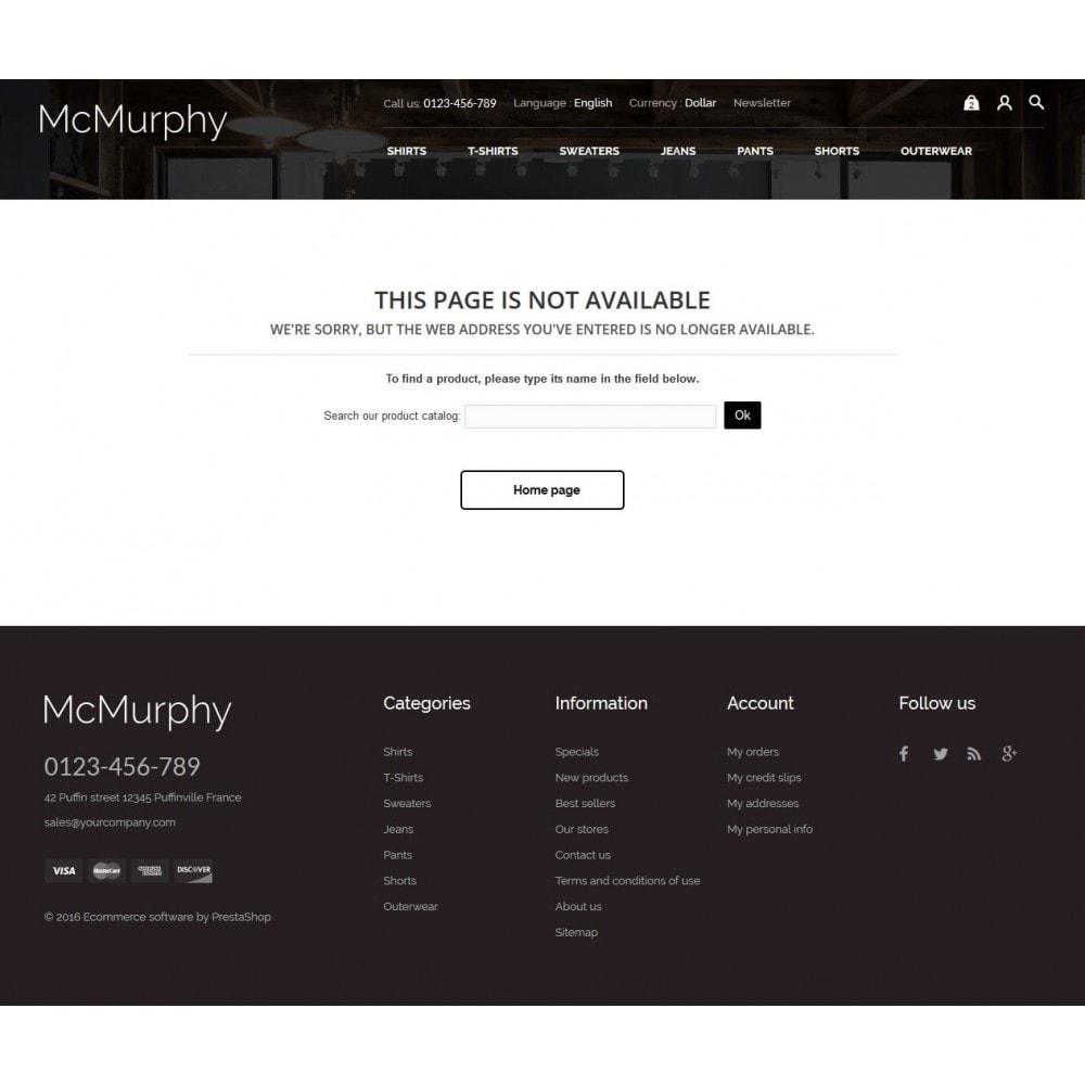 theme - Fashion & Shoes - McMurphy Men's Wear - 10