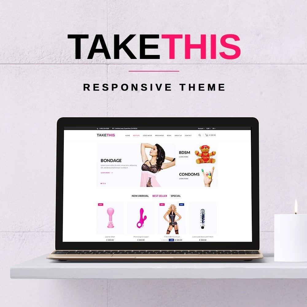 theme - Lingerie & Adult - TakeThis SexShop - 1