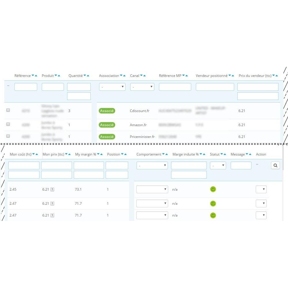 module - Marketplaces - Smart Price - Ajustement Automatique de Prix - 2