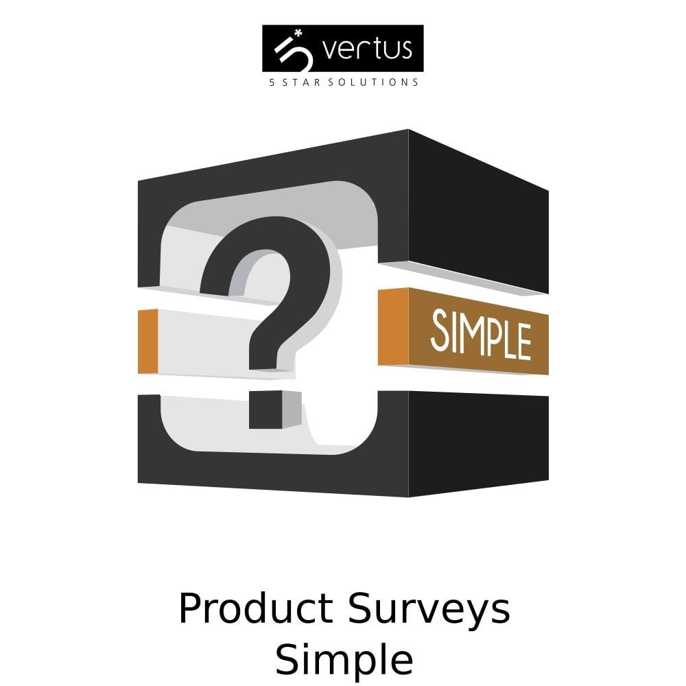 module - Formulaires de Contact & Sondages - Product Surveys Simple - 1