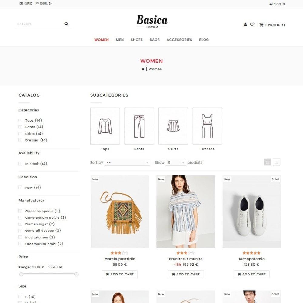 theme - Mode & Schoenen - Basica - 2