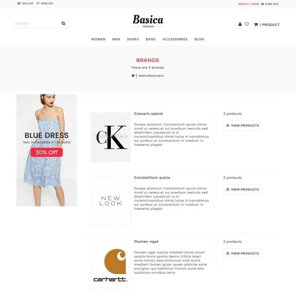 theme - Mode & Schoenen - Basica - 8