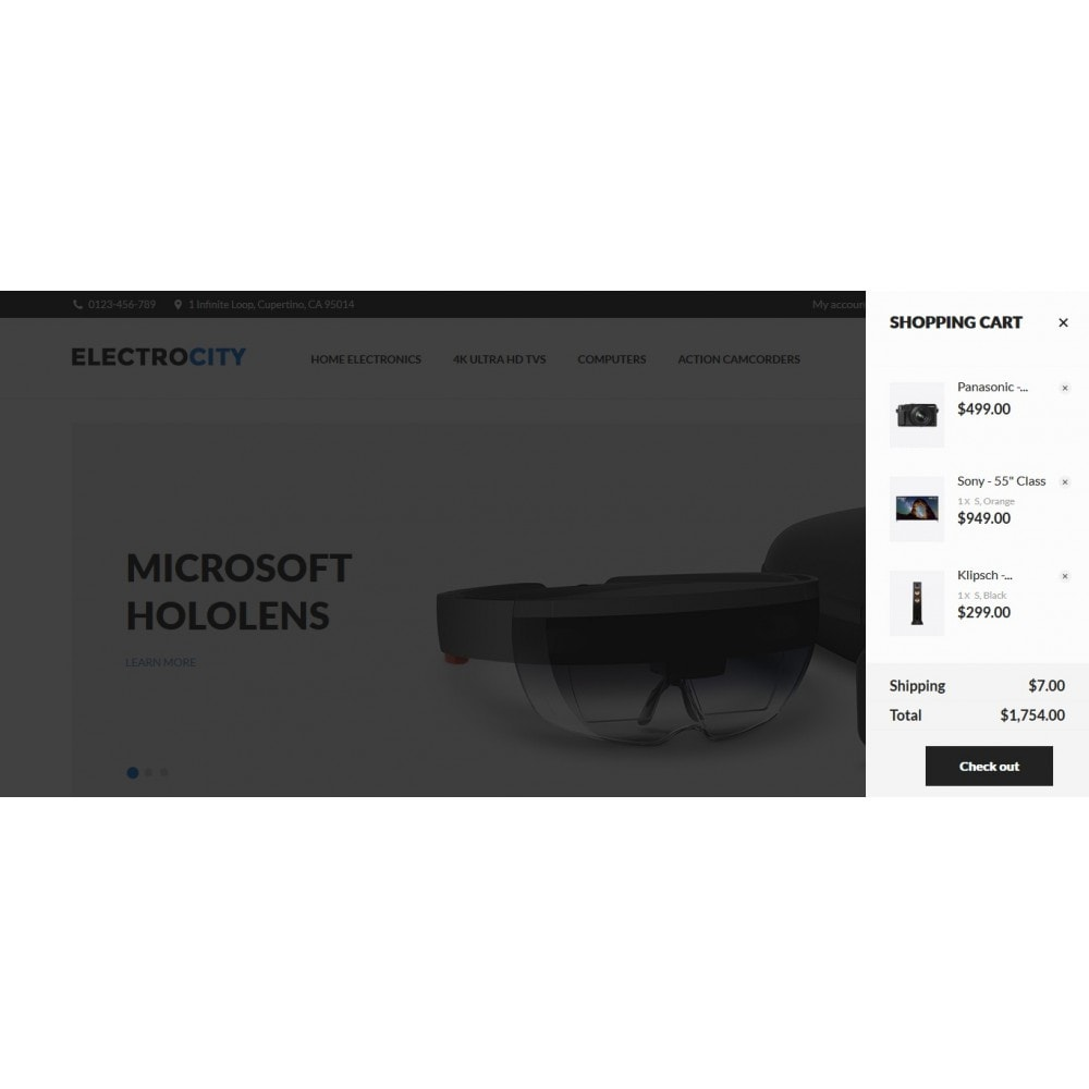 theme - Elektronica & High Tech - ElectroCity Store - 4