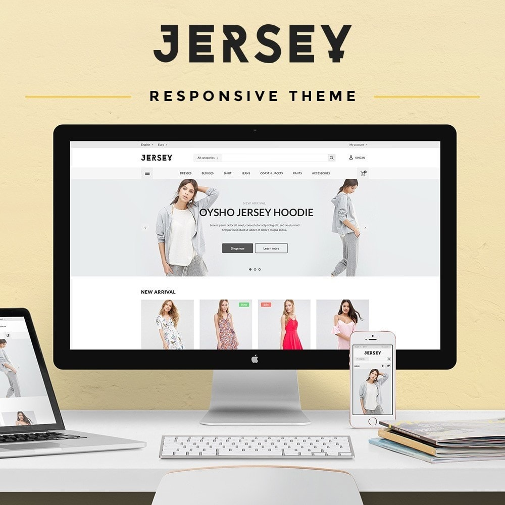 theme - Mode & Chaussures - Jersey Fashion Store - 1