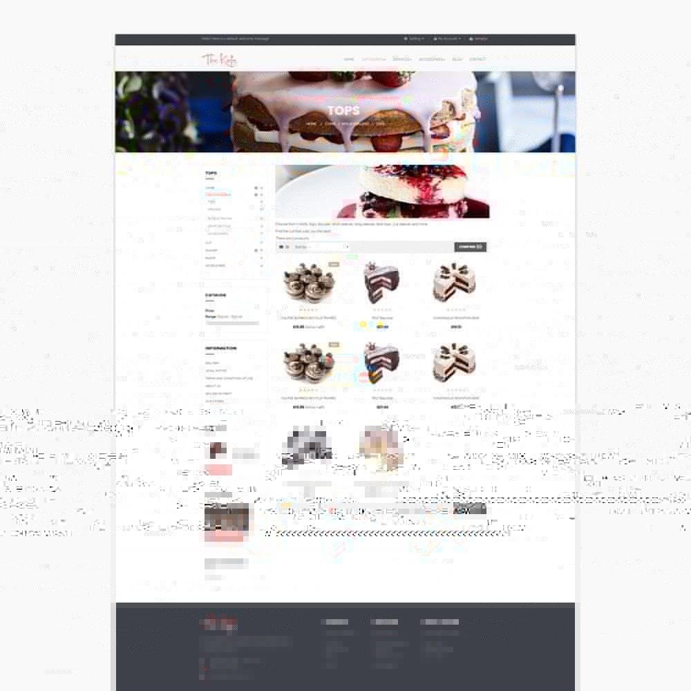 theme - Alimentation & Restauration - Ap The Kafe - 6