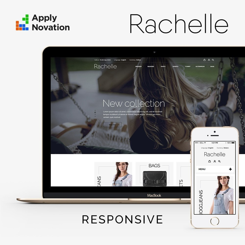 theme - Мода и обувь - Rachelle Fashion Store - 1