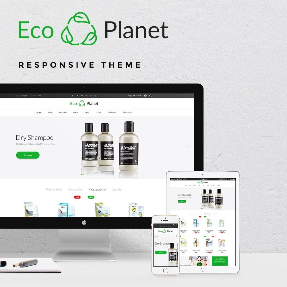theme - Salute & Bellezza - Eco Planet Store - 1