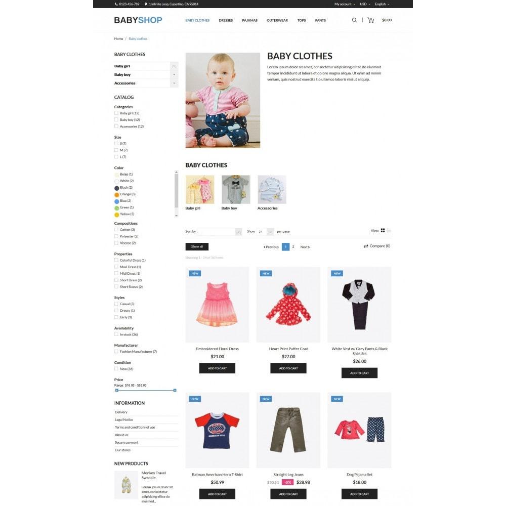 theme - Niños y Juguetes - Baby Shop - 5