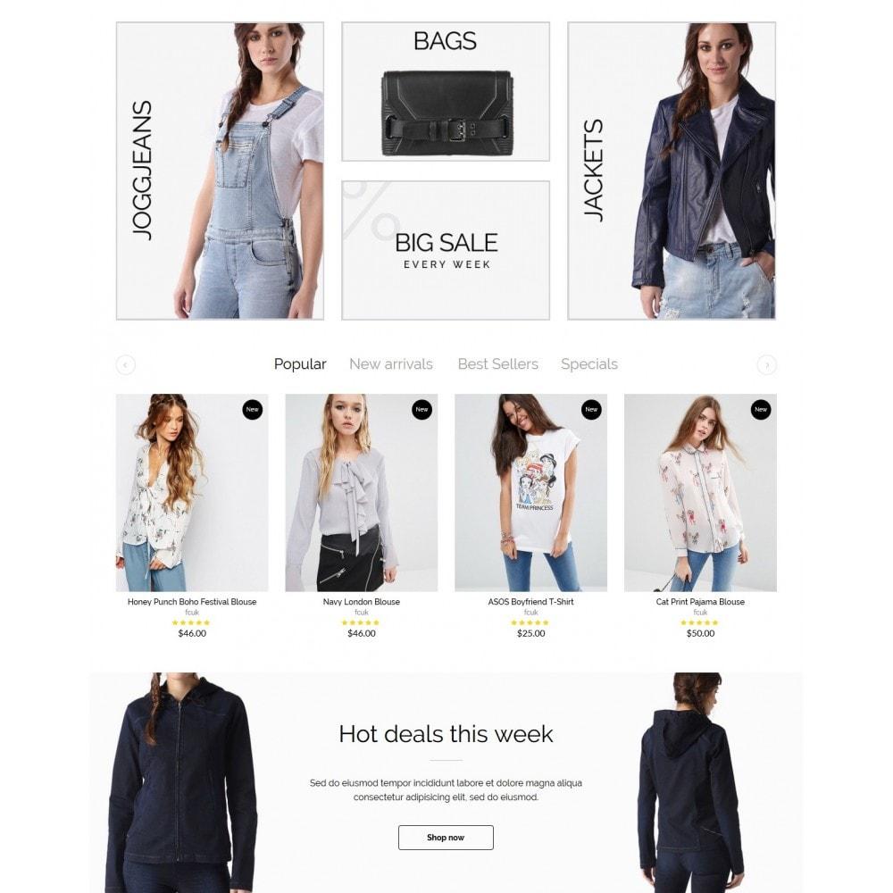 theme - Мода и обувь - Rachelle Fashion Store - 3