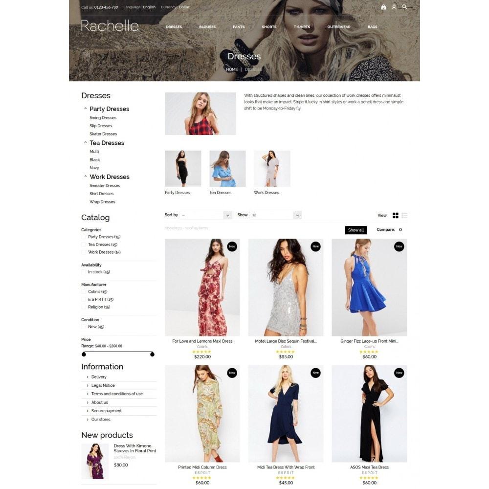 theme - Мода и обувь - Rachelle Fashion Store - 5