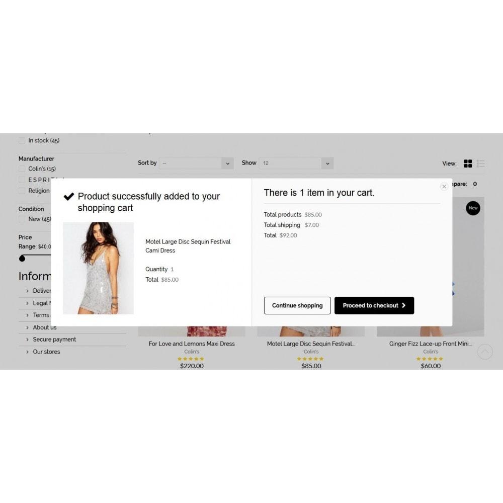 theme - Мода и обувь - Rachelle Fashion Store - 7