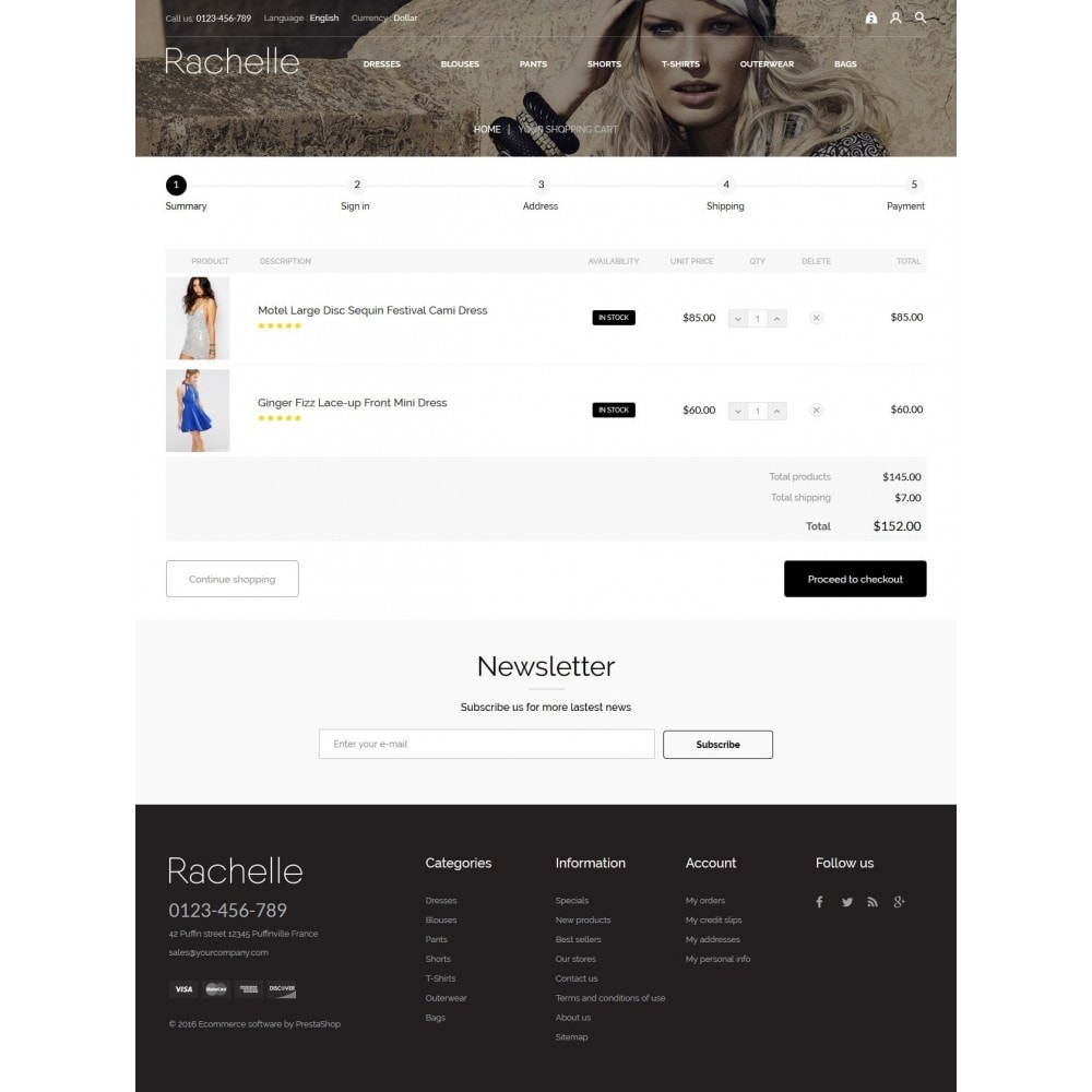 theme - Мода и обувь - Rachelle Fashion Store - 8