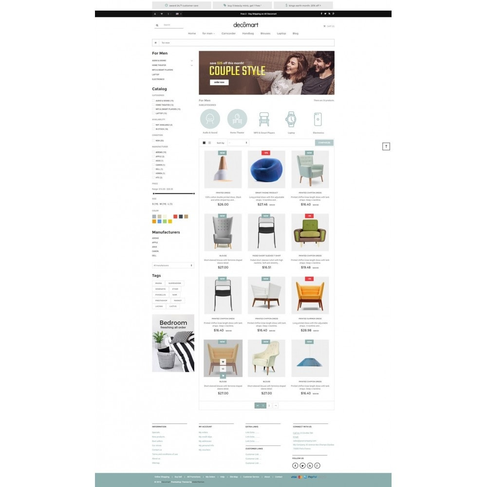 theme - Maison & Jardin - Decomart - Furniture Store - 4