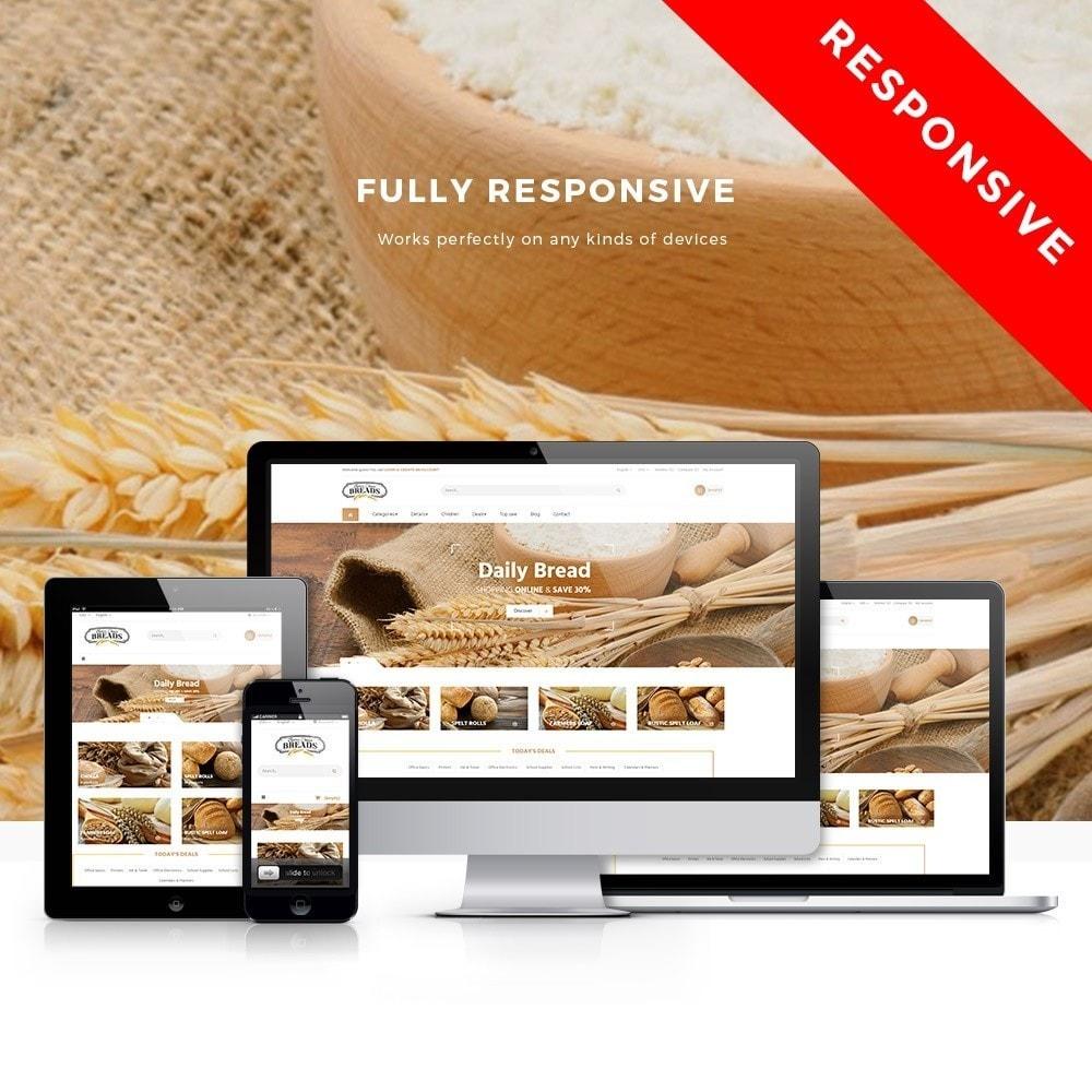theme - Żywność & Restauracje - Leo Bread - 1