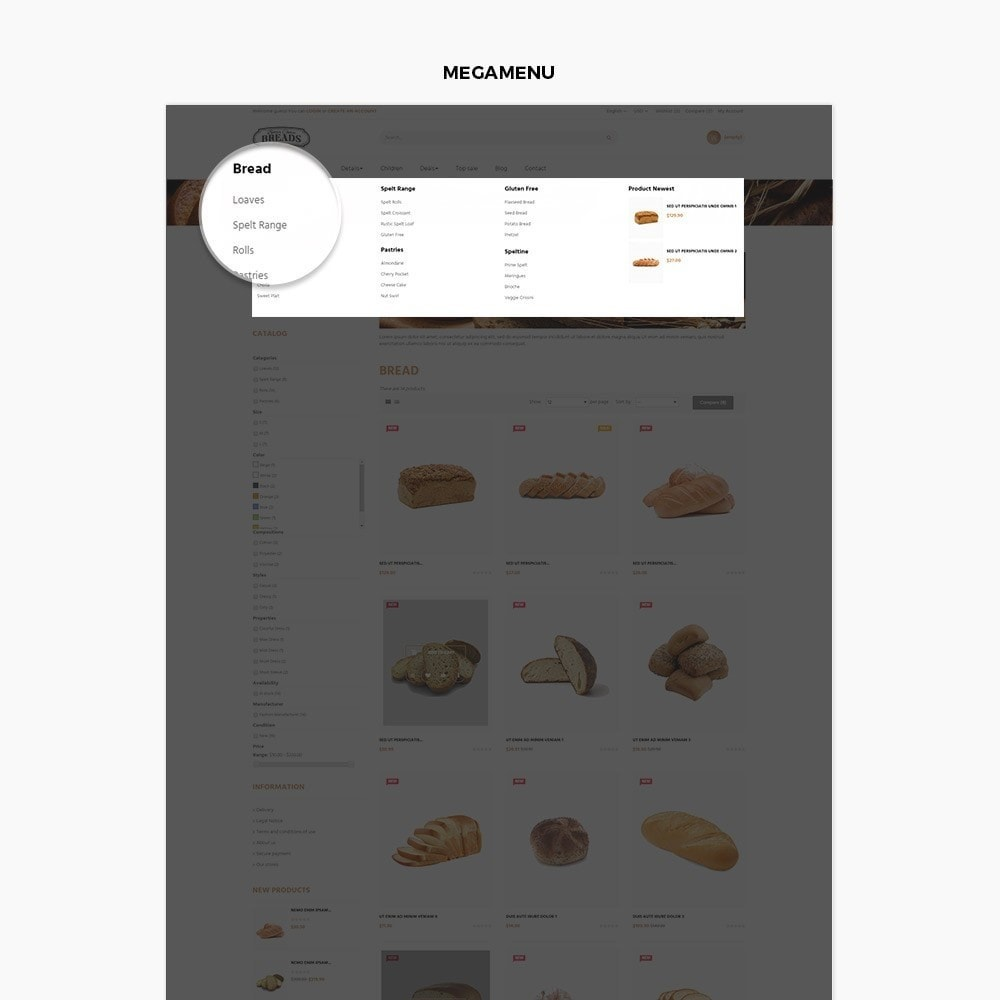 theme - Food & Restaurant - Leo Bread - Food & Loaf - 4