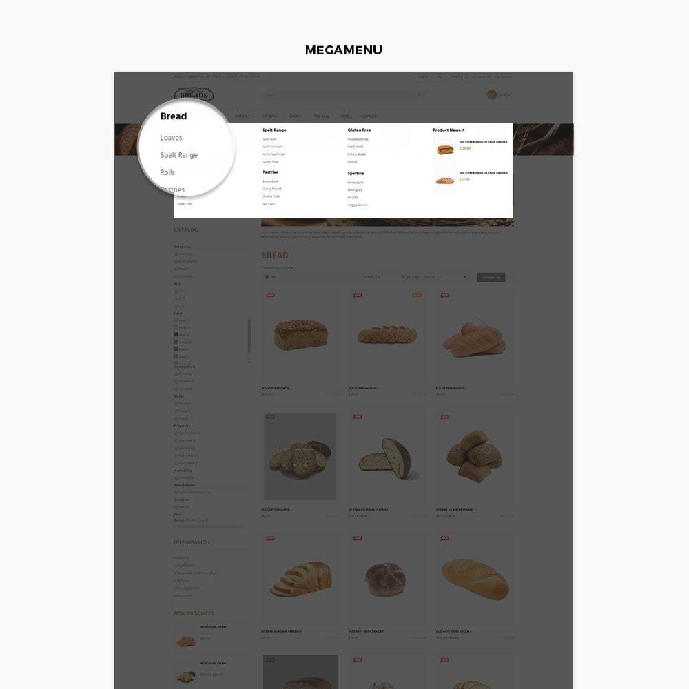 theme - Alimentos & Restaurantes - Leo Bread - 4