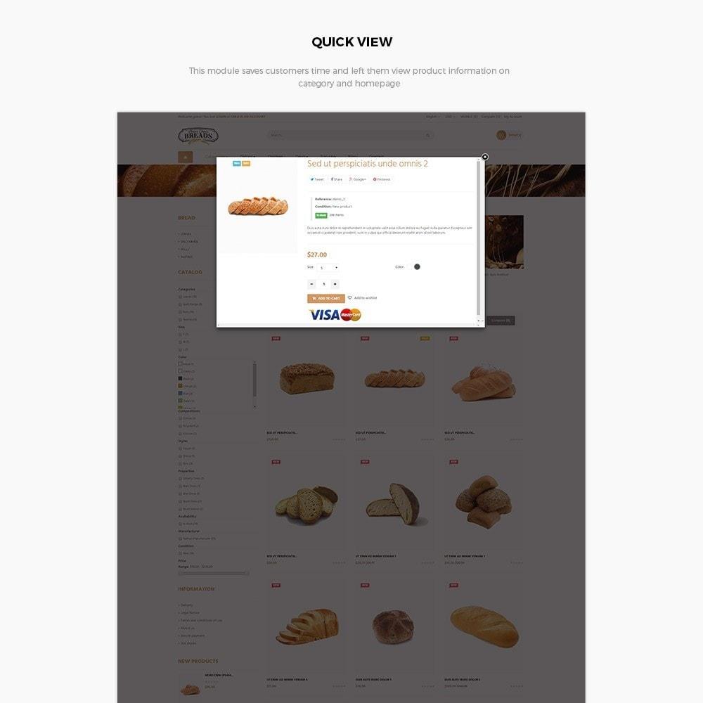 theme - Alimentation & Restauration - Leo Bread - Food & Loaf PrestaShop Theme - 5