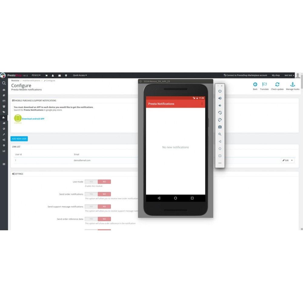 module - Zarządzanie zamówieniami - Mobile Order & Support Android Notifications - 3