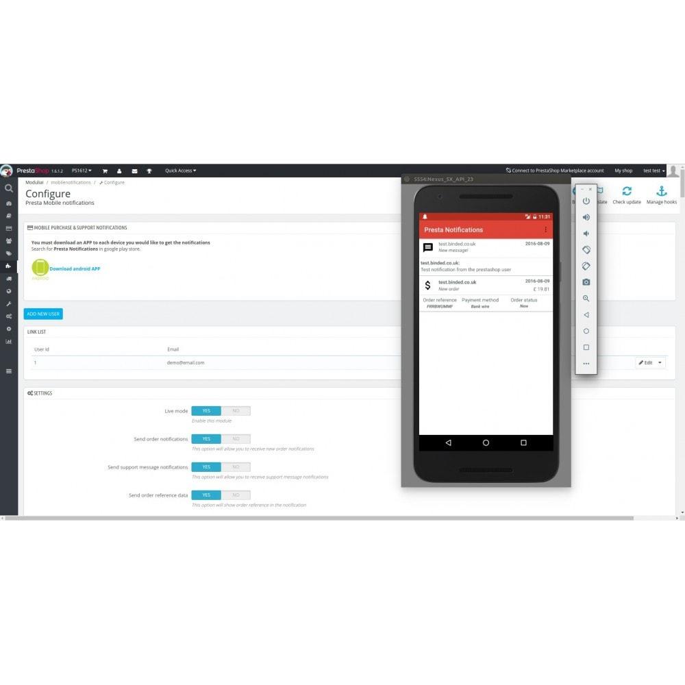 module - Zarządzanie zamówieniami - Mobile Order & Support Android Notifications - 7