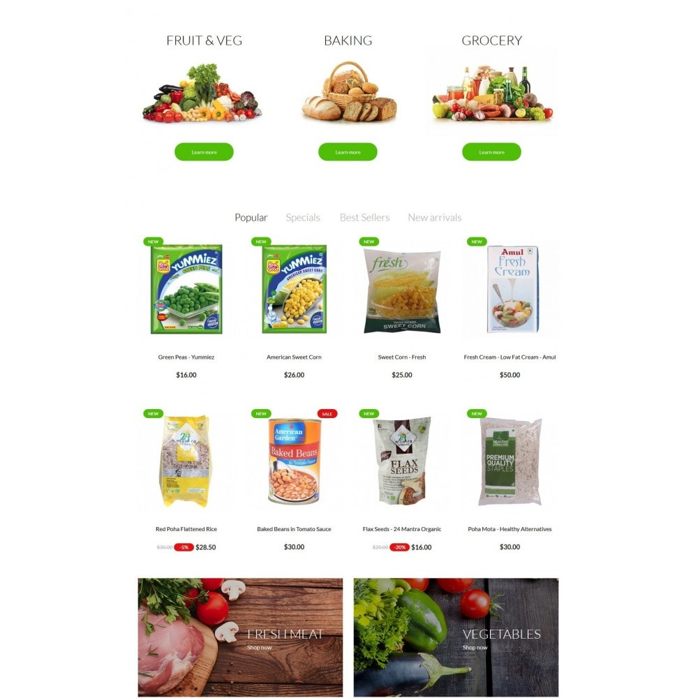 theme - Alimentos & Restaurantes - Real Food Store - 3
