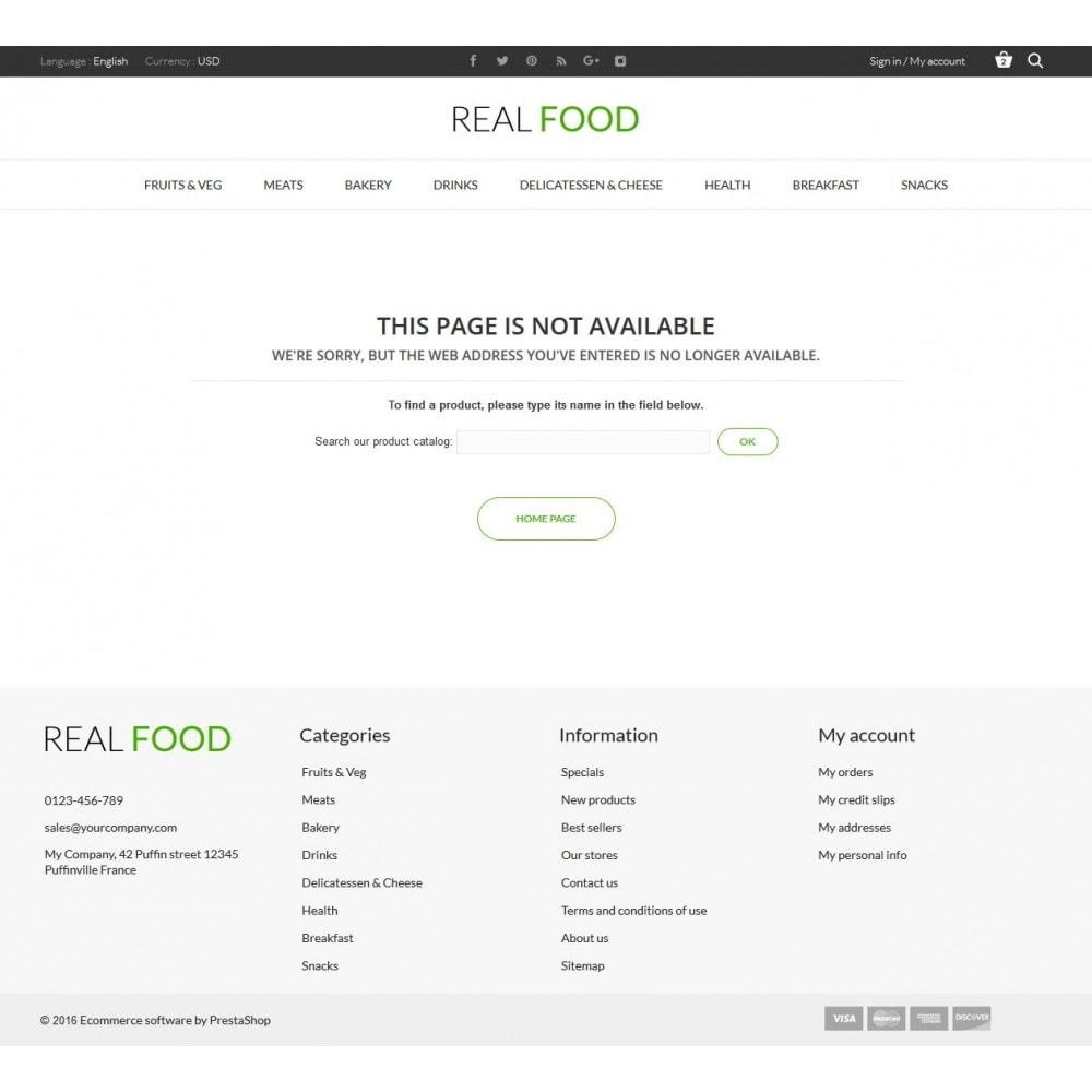 theme - Alimentos & Restaurantes - Real Food Store - 10