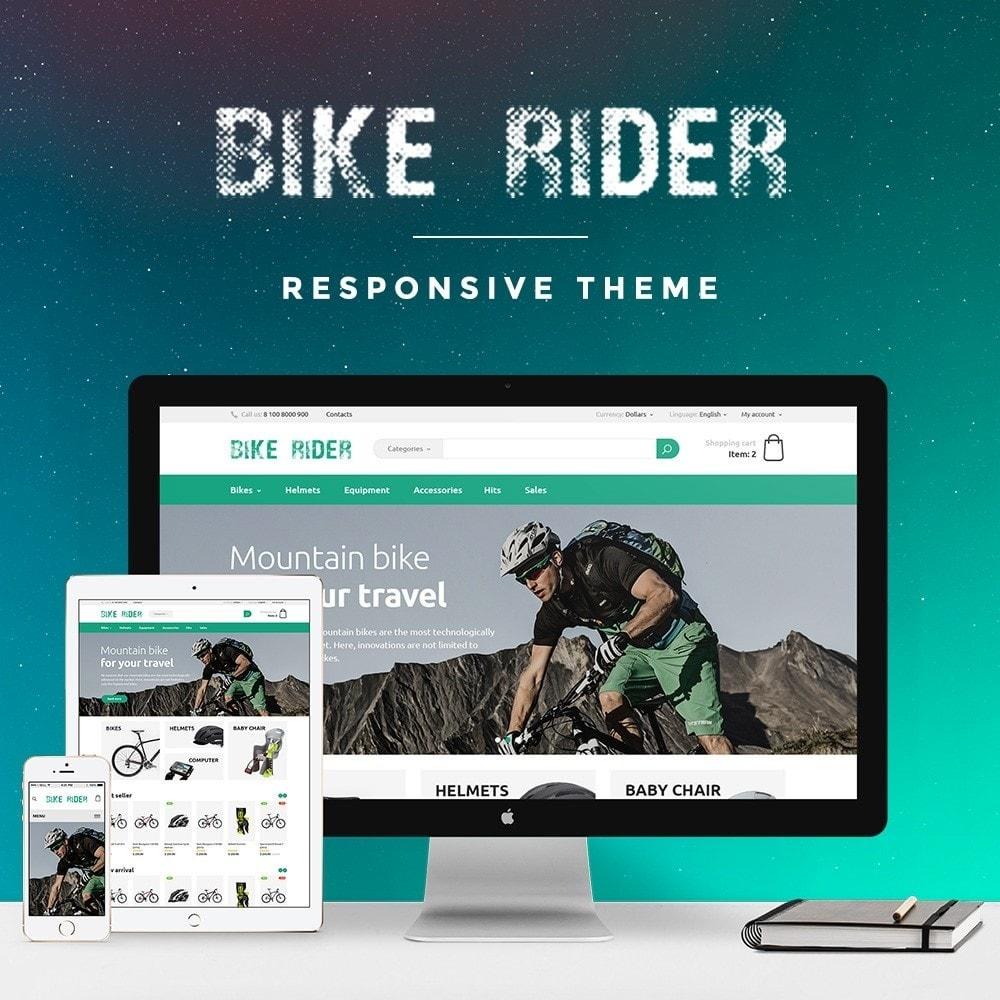 theme - Deportes, Actividades y Viajes - Bike Rider Store - 1