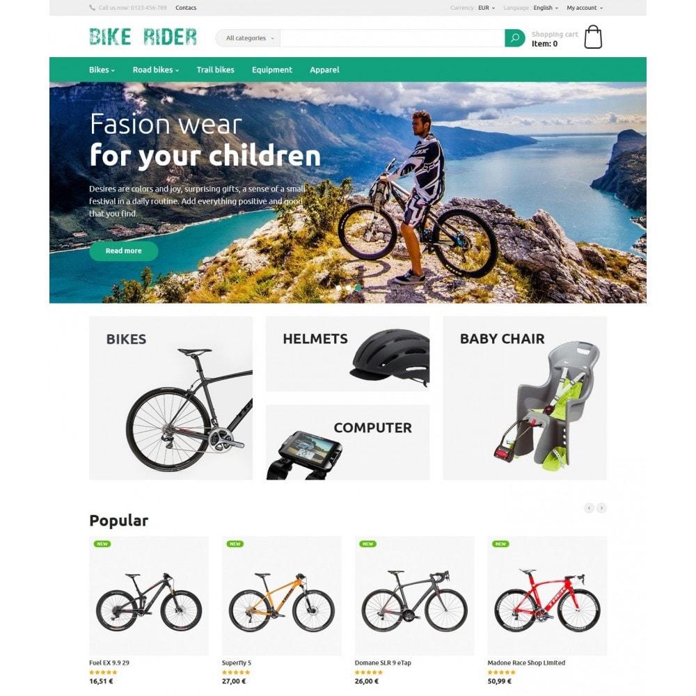 theme - Deportes, Actividades y Viajes - Bike Rider Store - 2