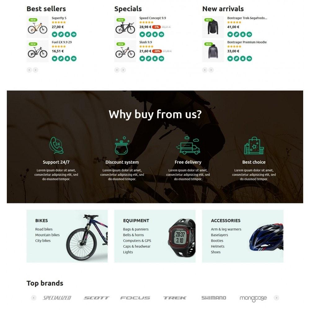theme - Deportes, Actividades y Viajes - Bike Rider Store - 3