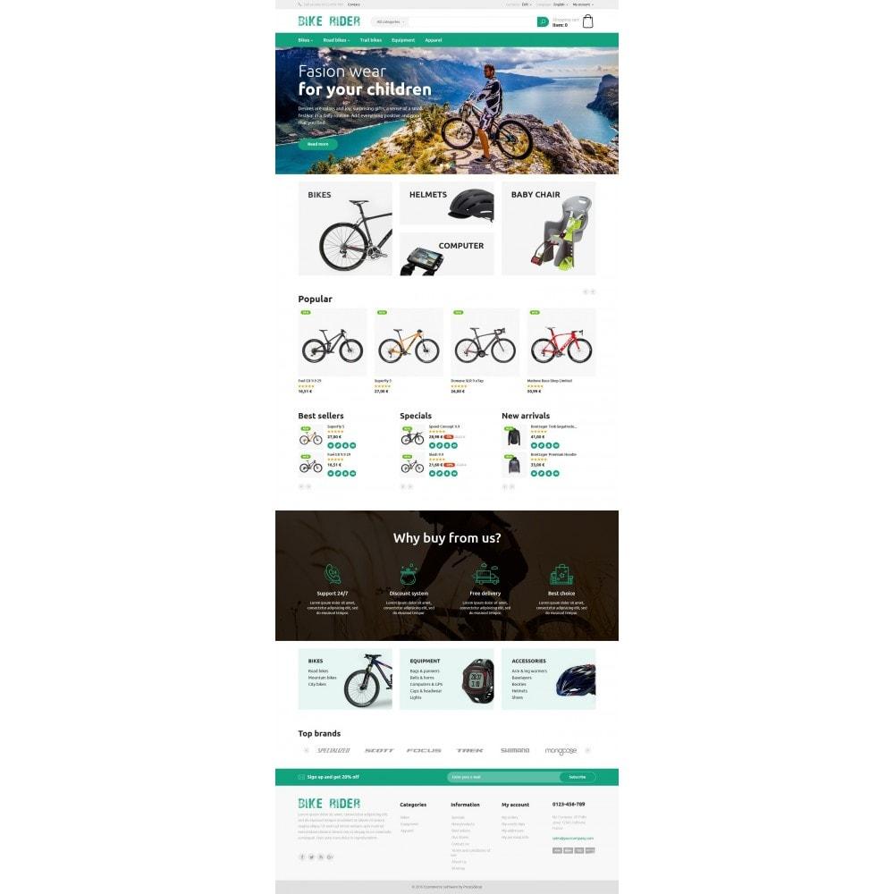 theme - Deportes, Actividades y Viajes - Bike Rider Store - 4