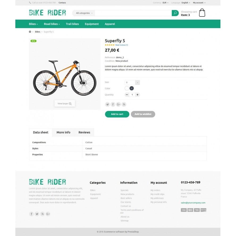 theme - Deportes, Actividades y Viajes - Bike Rider Store - 6