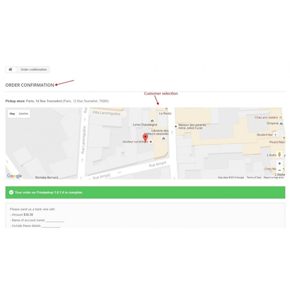 module - Abholstationen & Selbstabholer - Pickup in store / Choose store delivery on map - 5