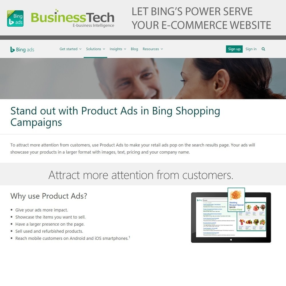 module - SEA SEM (paid advertising) & Affiliation Platforms - Bing Merchant Center - 2