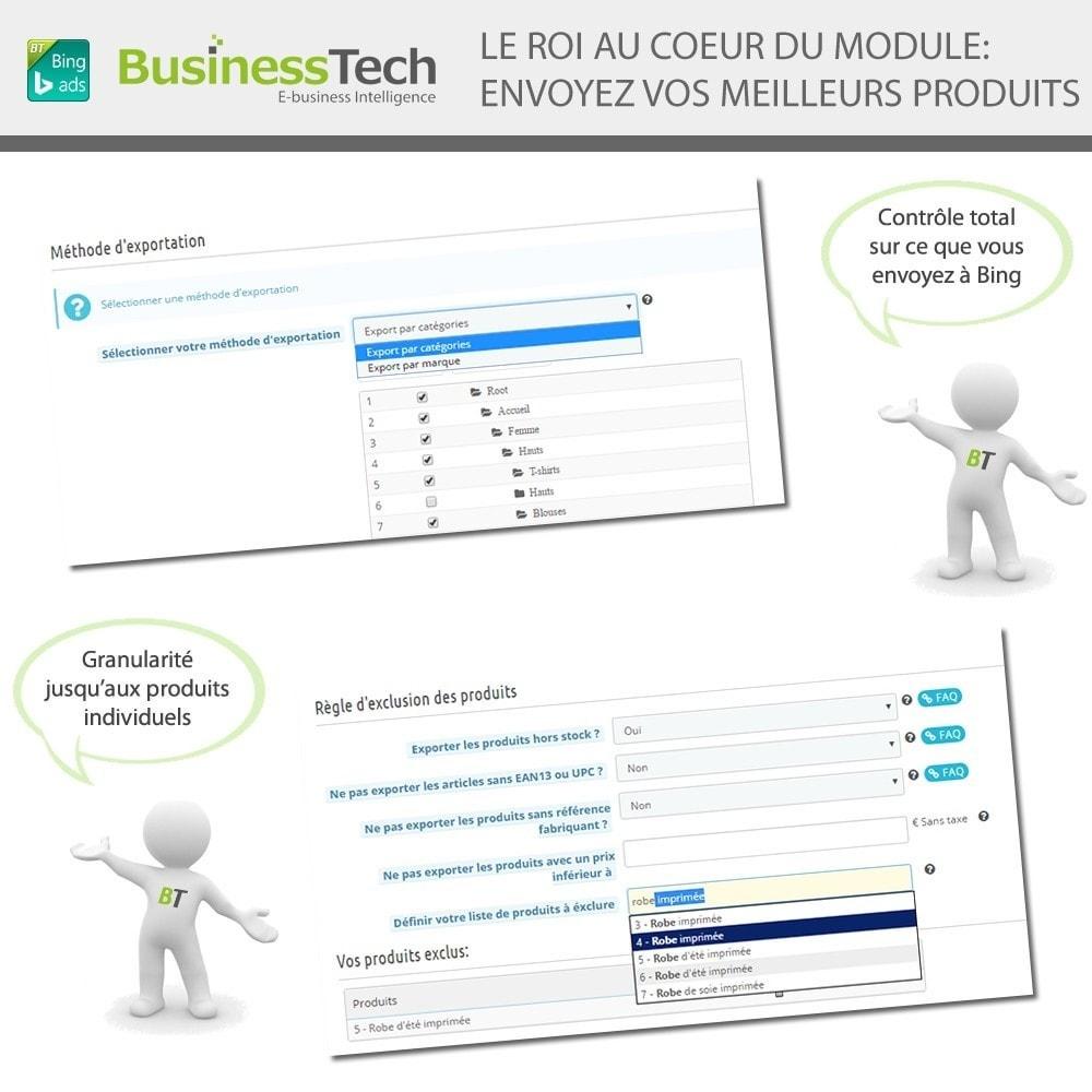 module - Référencement payant (SEA SEM) & Affiliation - Bing Merchant Center - 4