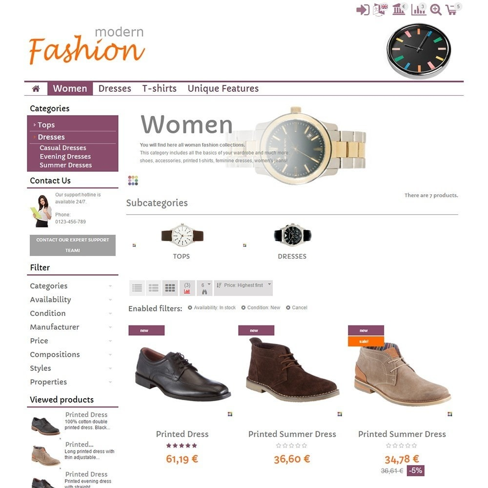 theme - Moda & Calçados - Modern Fashion - 3