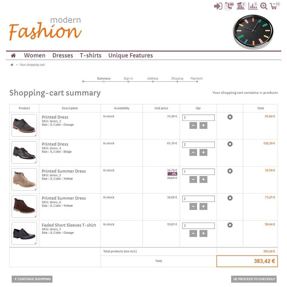 theme - Moda & Calçados - Modern Fashion - 5