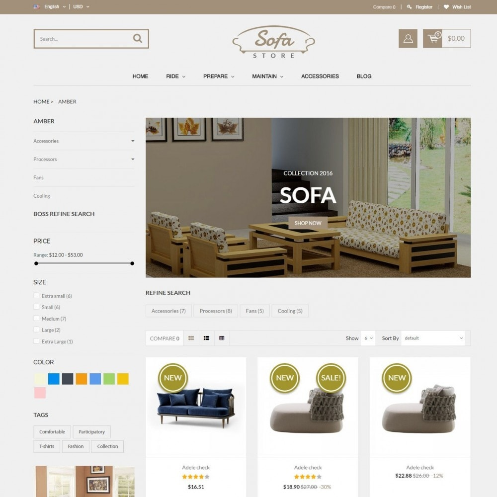 theme - Casa & Jardins - Comeback Home & Garden - SOFA Store - 3