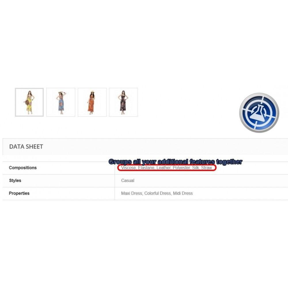 module - Versies & Personalisering van producten - Onbeperkt productkenmerk voor producten - 3