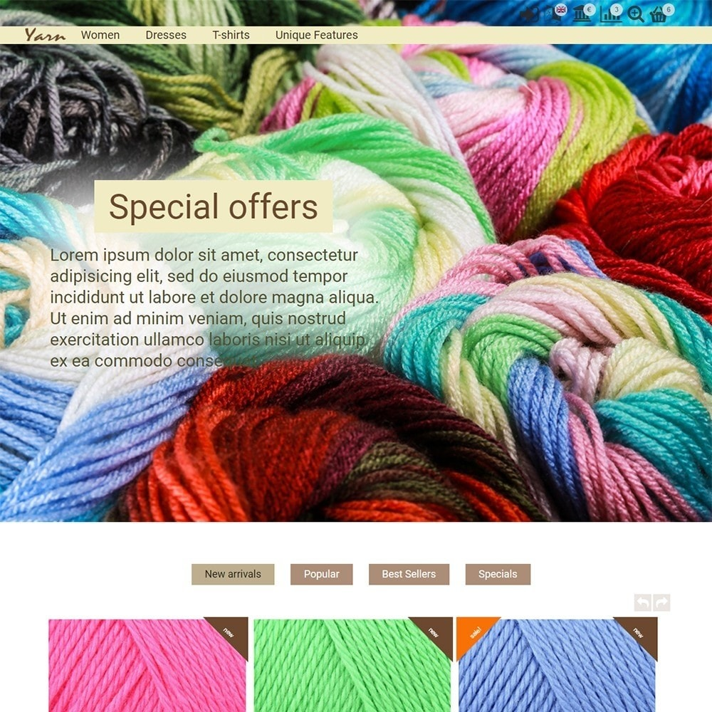 theme - Heim & Garten - Yarn - 2