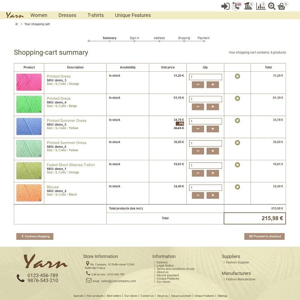 theme - Heim & Garten - Yarn - 5