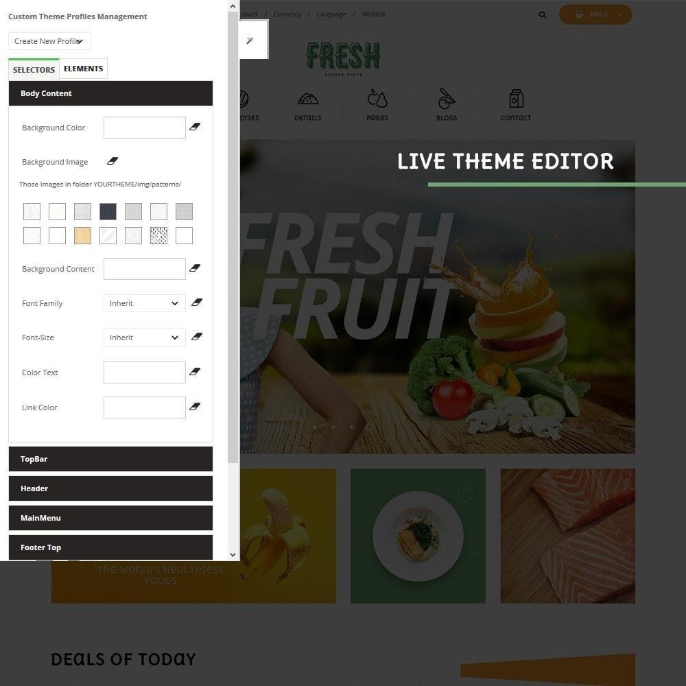 theme - Продовольствие и рестораны - Pts Fresh - 4