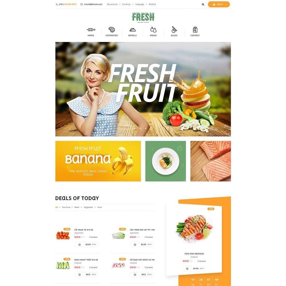 theme - Продовольствие и рестораны - Pts Fresh - 3
