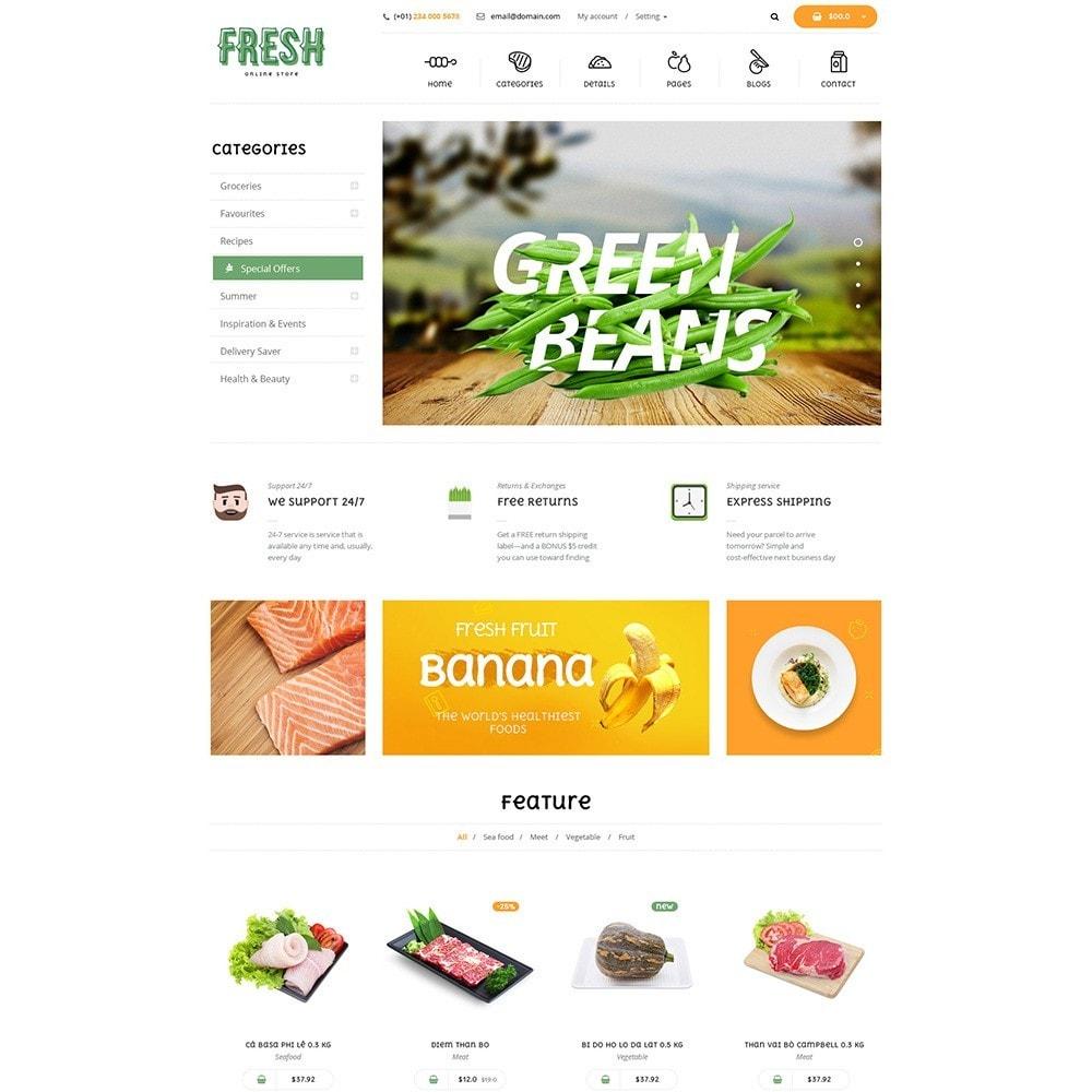 theme - Продовольствие и рестораны - Pts Fresh - 5
