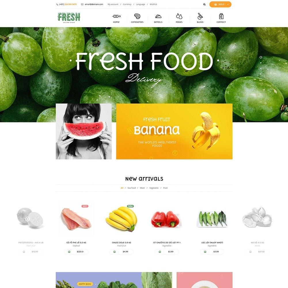 theme - Продовольствие и рестораны - Pts Fresh - 6