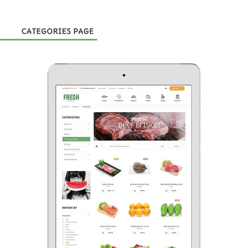 theme - Продовольствие и рестораны - Pts Fresh - 8