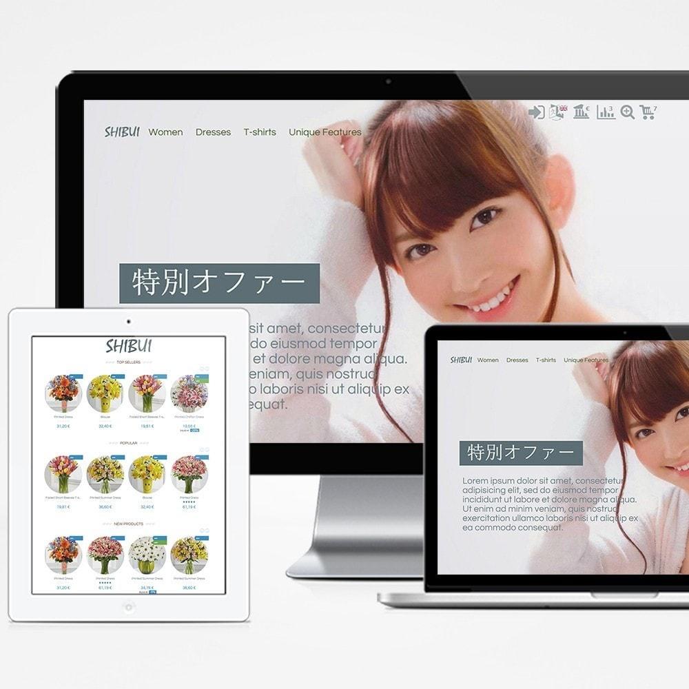 theme - Presentes, Flores & Comemorações - Shibui - 1